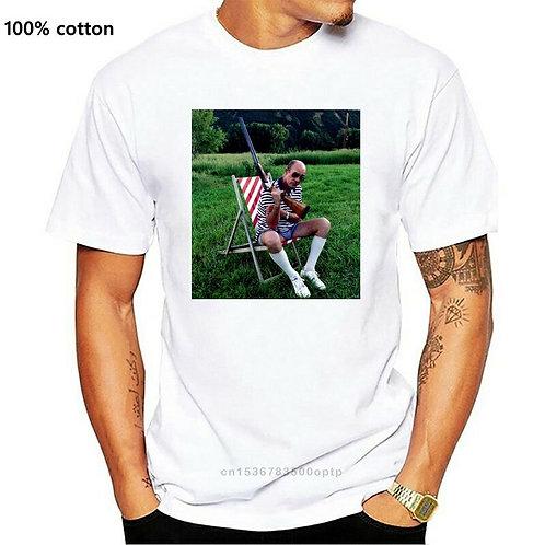 Hunter S. Thompson White T-Shirt Size