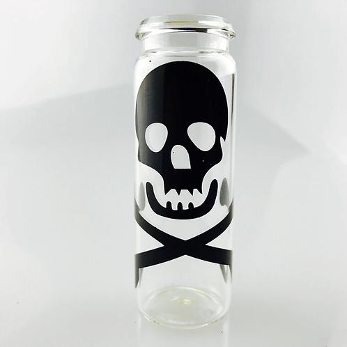 Glass Bottle Water Pipe