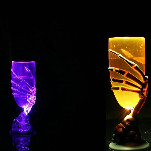 Glowing Wine Cup Claw Shape Plastic Cup