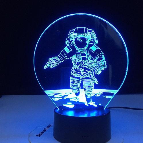 3D Astronaut  Lamp