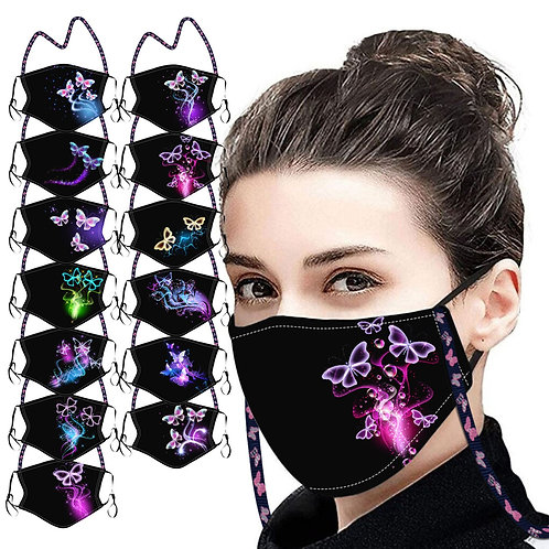 Butterfly Adult Washable Mask