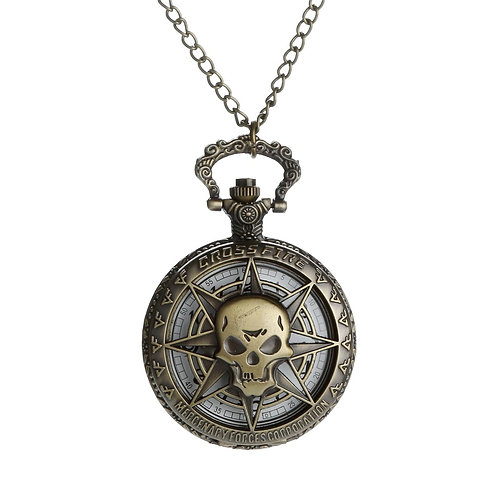 Skull Pocket Watches Vintage Pointer