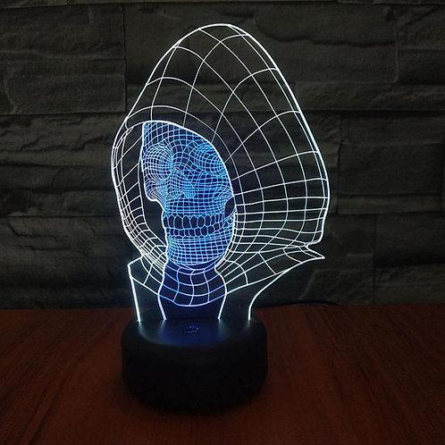 Skull Led 3d Lamp