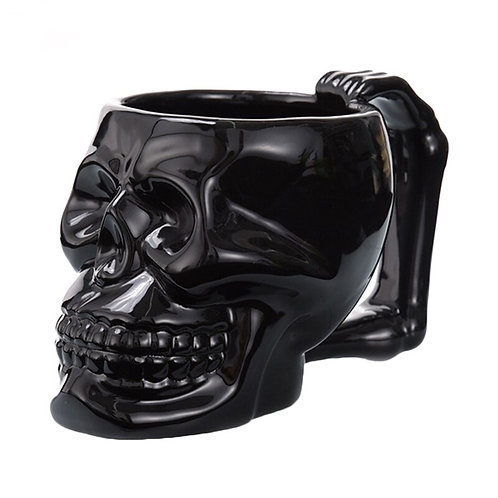 1Pcs New Black Ceramic Mug