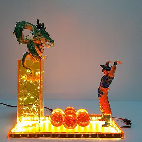 Dragon Ball Z Goku Call Out the Shenron Led Light