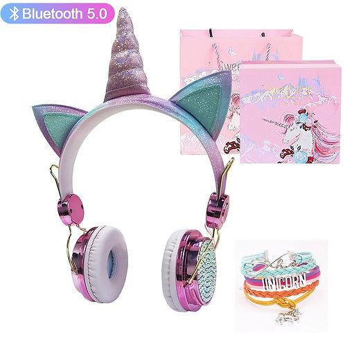 Unicorn Headphones Bluetooth 5.0