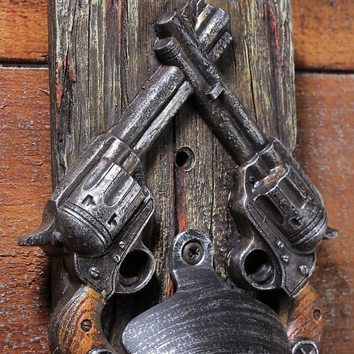 Western Bar Wall Bottle Opener
