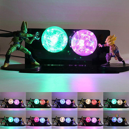 Dragon B Z Super Saiyan Lamp