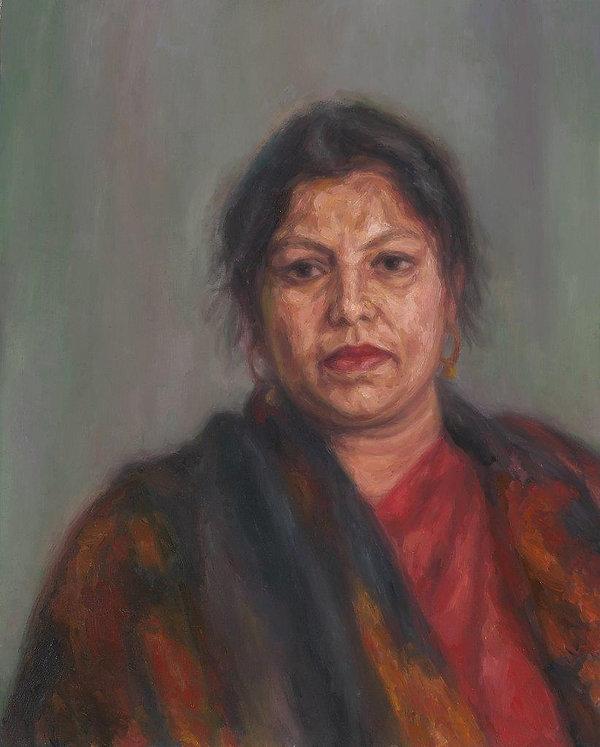Pola Uddin 2003 oil on canvas 2007 80 x