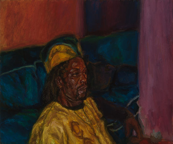 J Chuhan 'Levi' 2007 oil on canvas 75 x