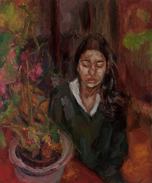 Jai Chuhan 'JC' 2003 oil on canvas  90 x