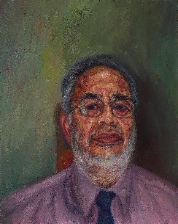 J Chuhan 'Deepak Chauhan' 2003 oil on ca