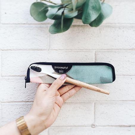 Une brosse à dent, made in France, respectueuse de l'environnement et recyclable