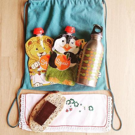 Kit du goûter zéro déchet pour les enfants