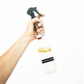 Mon spray anti poussière