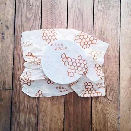 Remplacer le film plastique et le papier d'alu par des bee wraps