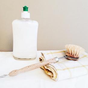 Le liquide vaisselle maison : la recette rapide