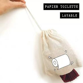 Le papier toilette lavable : pourquoi pas ?