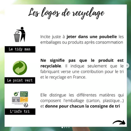 Mieux comprendre les logos de recyclage