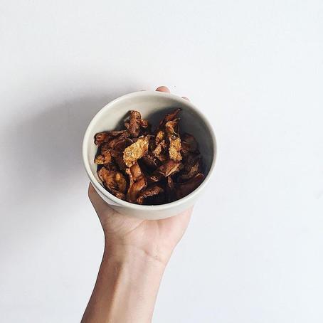 Idée récup : les chips d'épluchures de pommes de terre
