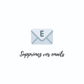 Supprimer ses emails