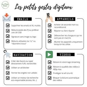 Quel est l'impact écologique du digital ?