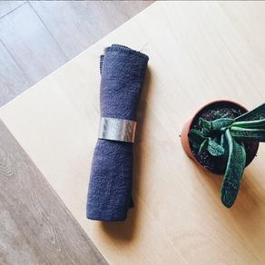 Remplacer le sopalin par des serviettes en tissus !