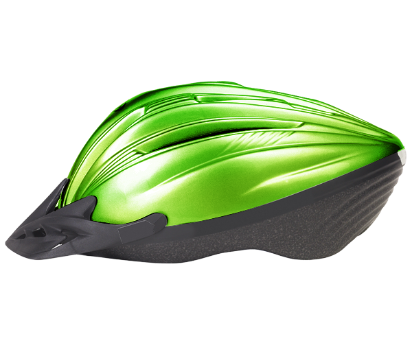 Green Bike Helmet
