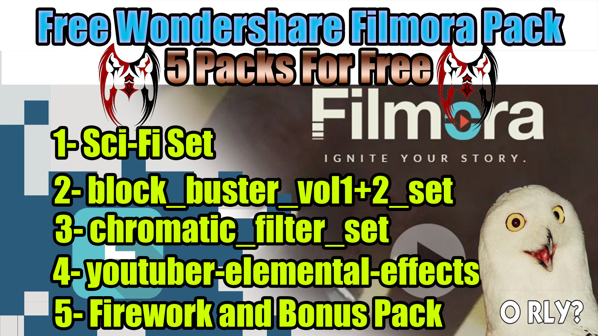 Filmora effects store free