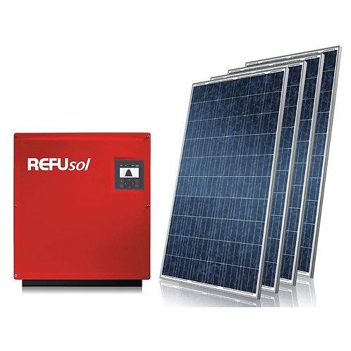 Kit de gerador fotovoltaico Refusol