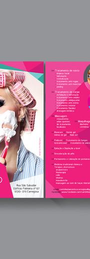 Flyer para Salão de Beleza