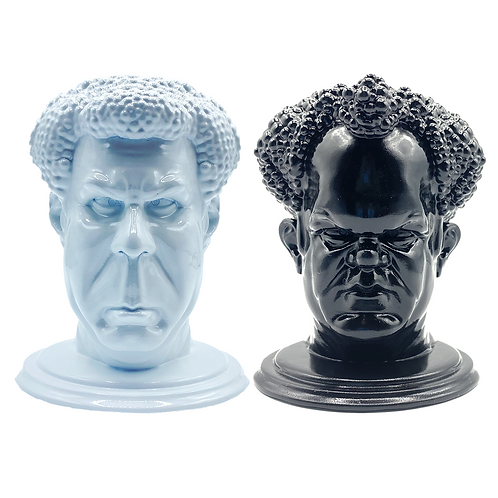 'STEP BROTHERS' Desk Heads, Large