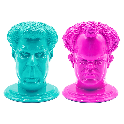 'STEP BROTHERS' Desk Heads, Small
