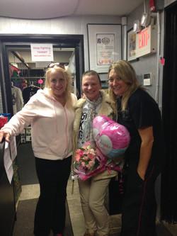 Tammy with Arlene and Christina