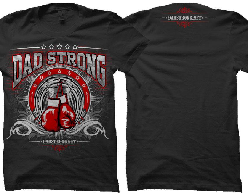 Dad Strong Tshirt