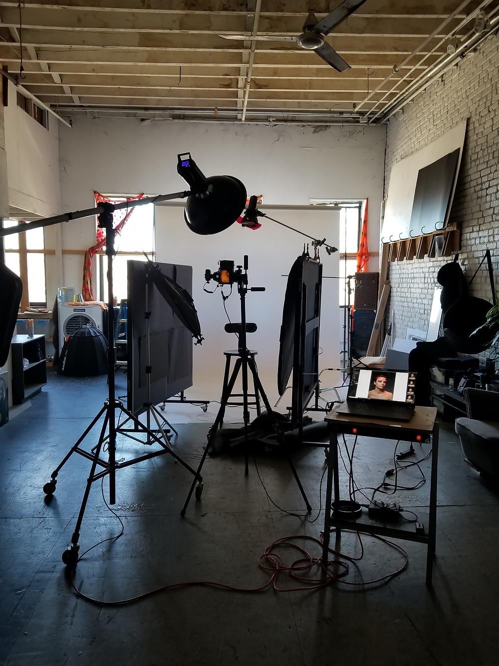 Studio almost fully set up in Brooklyn Navy Yard