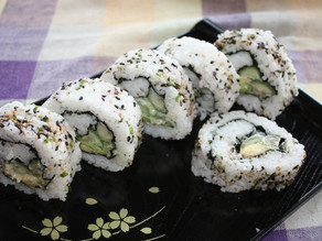 Uramaki (Inside Out) Sushi Roll