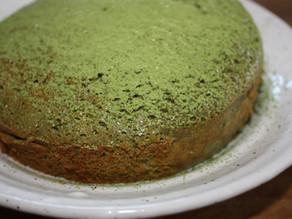 Matcha Green Tea and White Chocolate Cake