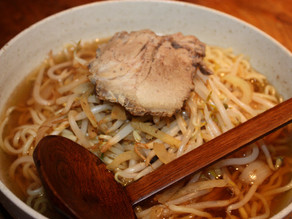 Ramen Noodles in Broth