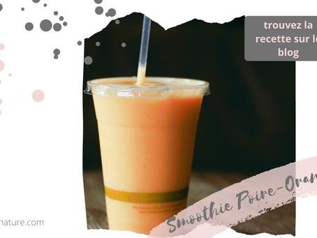 Smoothie Poire-Orange