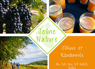 Jeûne Nature, Stage 2021 06 du 23 au 29