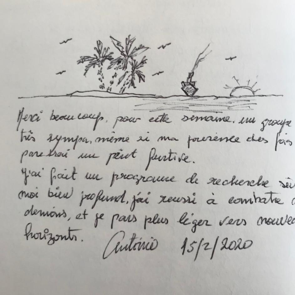 Jeûne Nature, Alsace, Livre D'or, FFJR