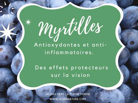 Les Myrtilles - pour les yeux