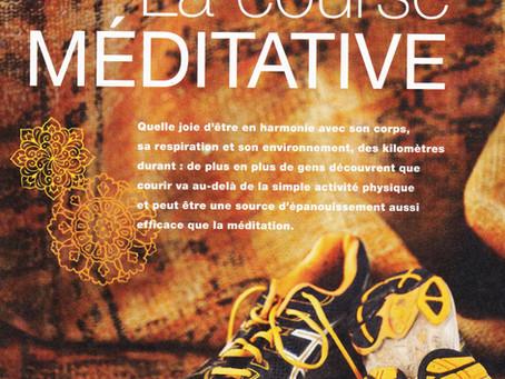 Course à pied et méditation