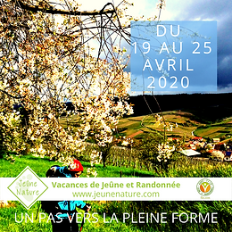 JeûneNature, FFJR, Avril 2020