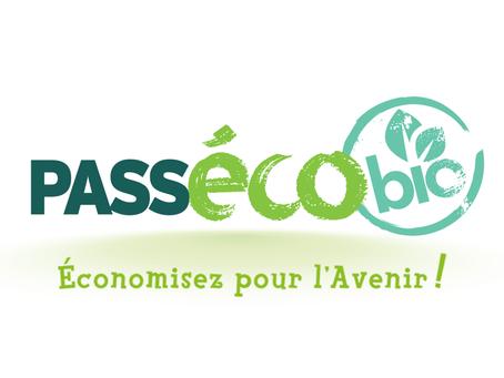 Le PASS éco bio -  économisez pour l'avenir