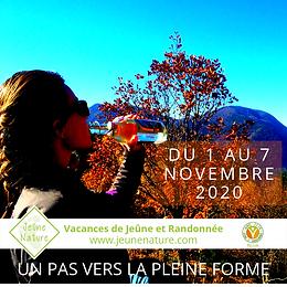 Jeûne Nature, FFJR, Nov 2020