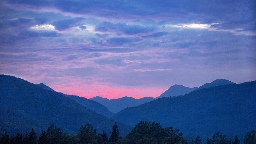 Ora blu a Gavinana , Italia