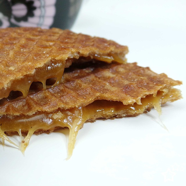 Stroopwafel aka the most heavenly treat in the universe and soul mate of the perfect cup of coffee
