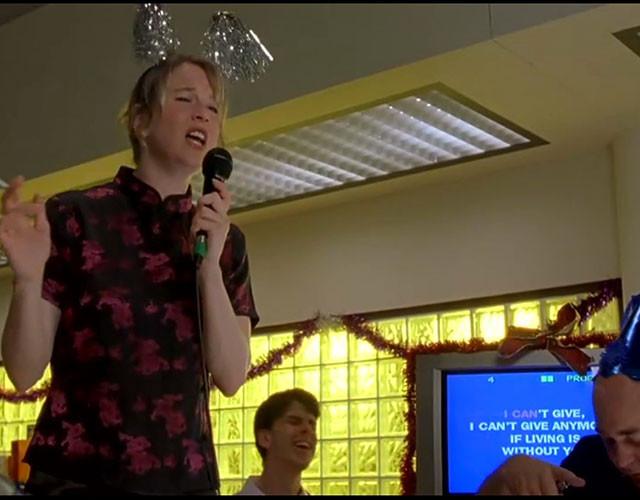Bridget Jones on Karaoke